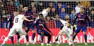 ليفانتي يهزم ريال مدريد