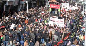 """مسيرات ضد """"صفقة القرن"""" ورفضا لاتفاقية """"الغاز من إسرائيل"""""""
