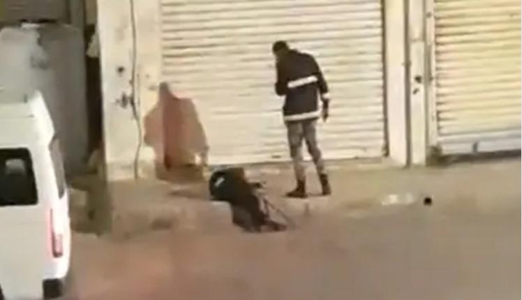 الأمن يوضح قصة فيديو متداول حول شخص ملقى على الأرض بالمقابلين