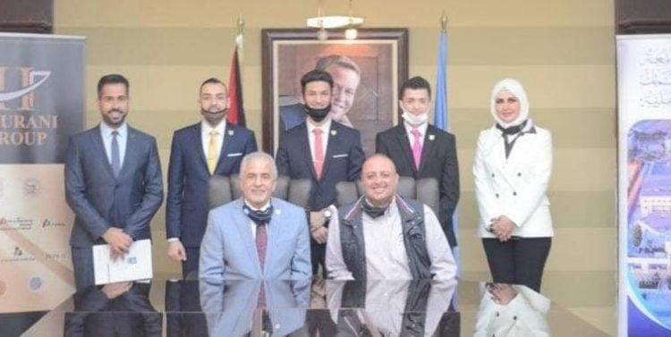 منح دراسية كاملة لفريق جامعة عمان الأهلية في جائزة Hult العالمية