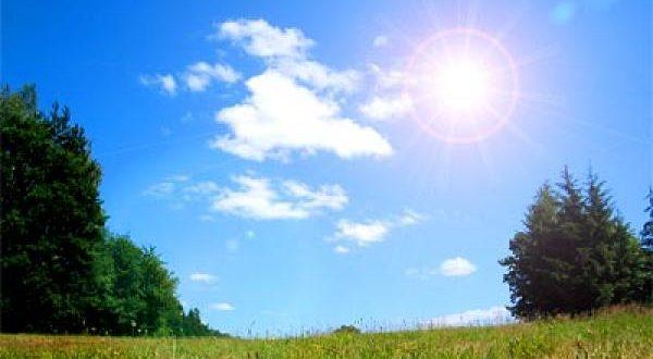 اليوم انخفاض على درجات الحرارة  وبقاء الاجواء حارة في معظم المناطق