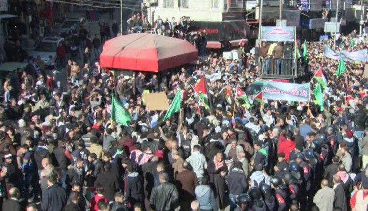 مسيرة في وسط البلد رفضا لمخططات الضم