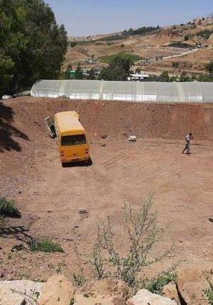 27 إصابة اثر تدهور حافلة بمرج الحمام في عمان