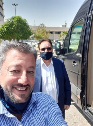 مالك حداد : نتائج فحوصاتي سلبية وغادرت مستشفى الأمير حمزة