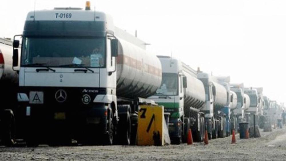 واردات الأردن من العراق262 ألف برميل نفط الشهر الماضي.