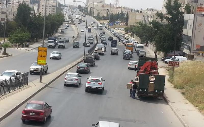تحديد سرعة الشاحنات عند 70 كم في كافة شوارع عمّان