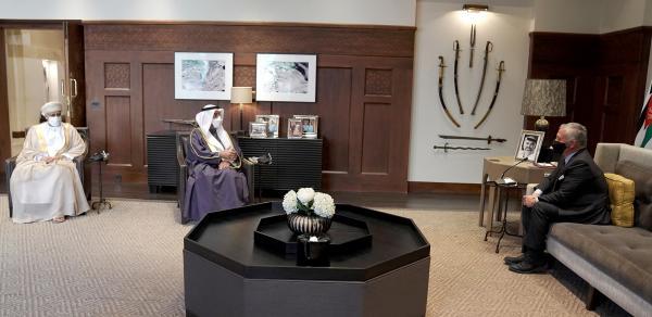الملك يؤكد أهمية توحيد الصف العربي في مواجهة التحديات