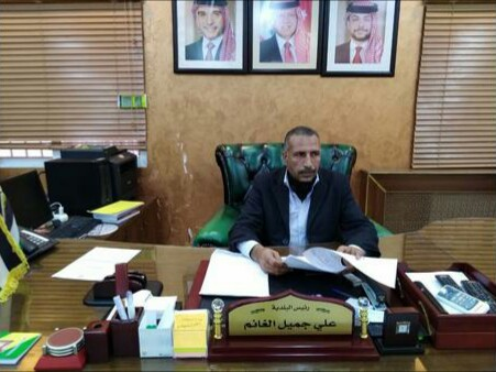 جهود مميزة نالت رضاء المواطنين يبذلها رئيس بلدية حسبان ….الغانم