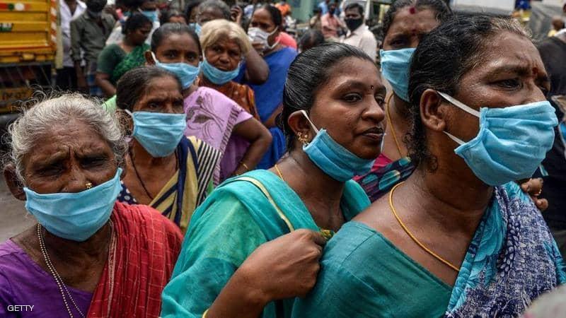 الهند تسجل عدداً قياسياً جديداً من الإصابات بكورونا بلغ 400 ألف خلال 24 ساعة