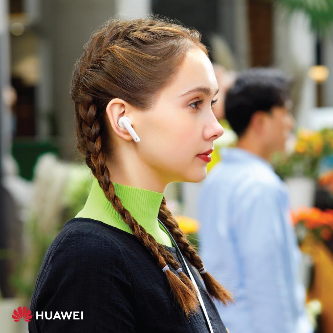 السماعات الأحدث من هواوي HUAWEI FreeBuds 4iمتاحة رسميًا في السوق الأردني