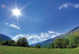 الخميس اجواء  صيفيه اعتيادية في عموم المناطق، وحار نسبيا في المناطق المنخفضة