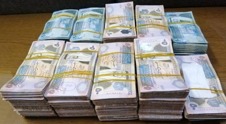 السيولة المحلية ترتفع نصف مليار دينار في شهرين