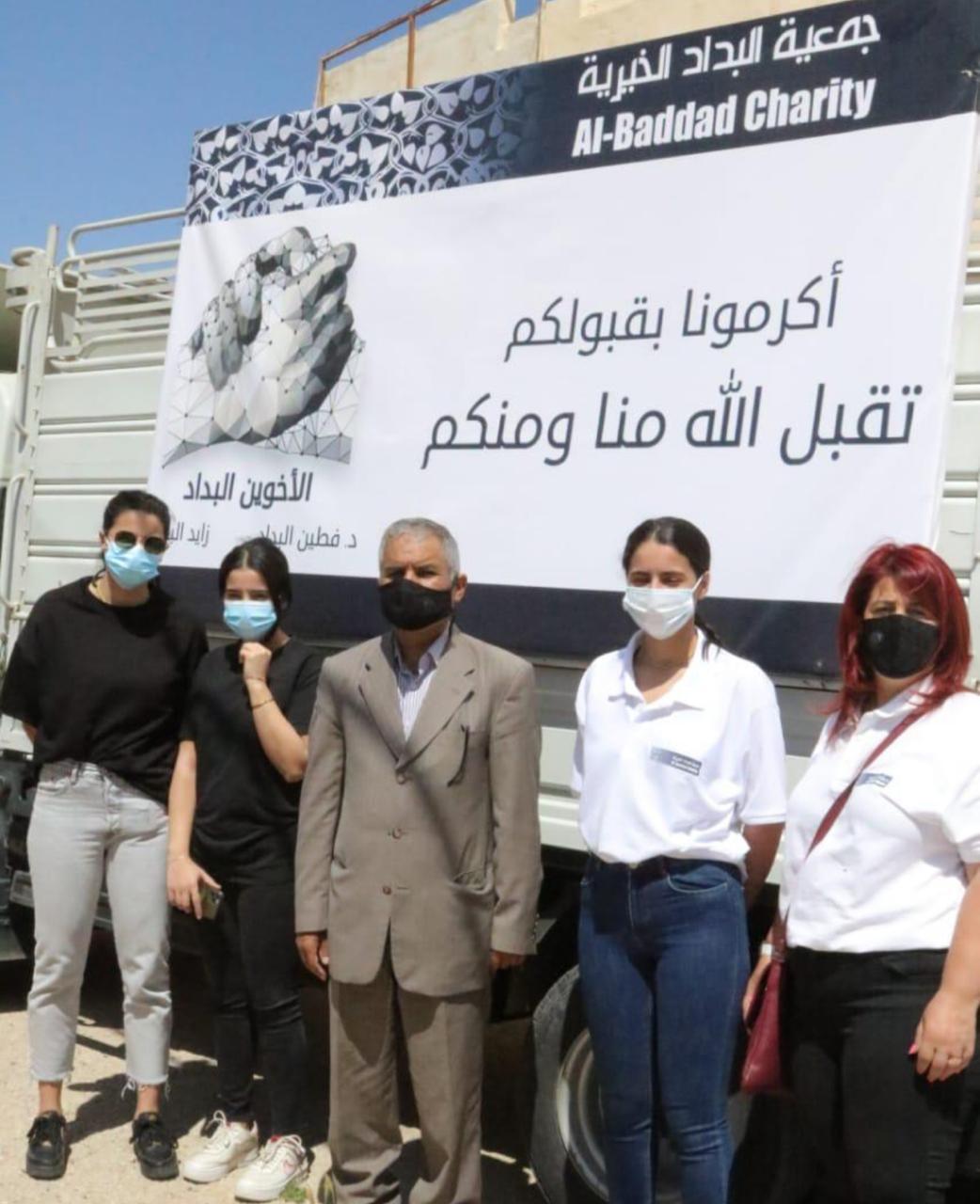 """جمعية البداد الخيرية تواصل توزيع طرود الشهر الكريم """"أكرمونا بقبولكم"""