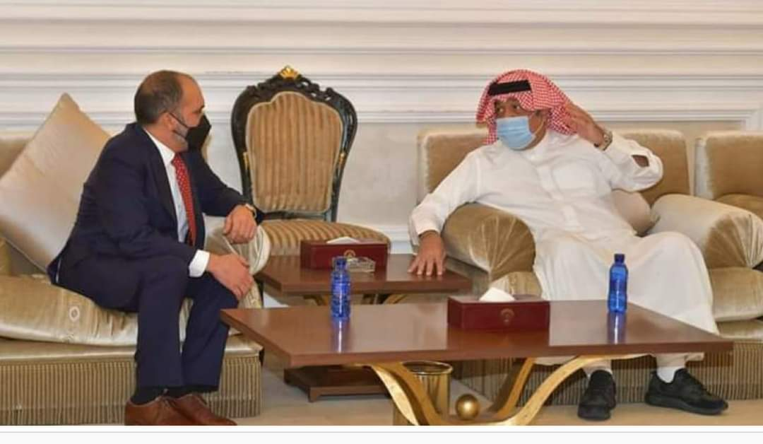 الأمير علي بن الحسين يصل الكويت لمؤازرة منتخب النشامى
