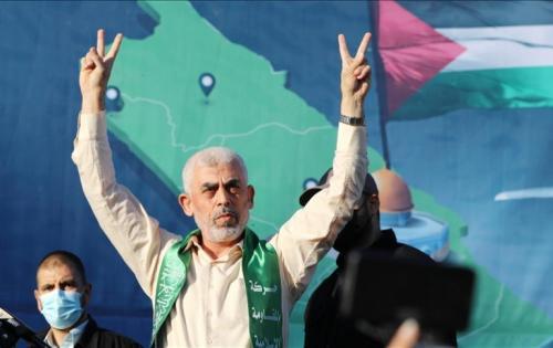 """السنوار: المقاومة بألف خير .. و مرمطنا """"الكيان الصهيوني"""""""