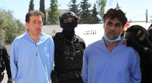الحكم بالسجن على باسم عوض الله والشريف حسين بالأشغال المؤقتة لمدة 15 عاما … التفاصيل والصور