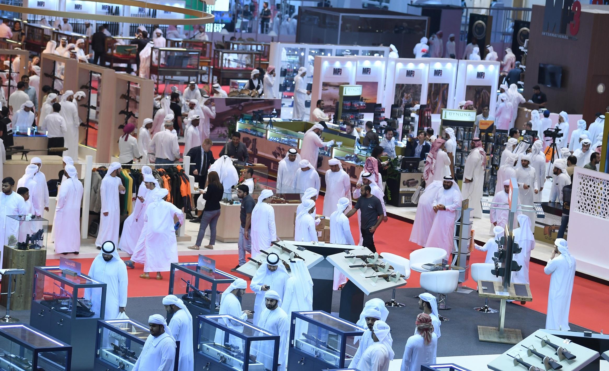 زيادة كبيرة في عدد الشركات الإماراتية بمعرض أبوظبي الدولي للصيد والفروسية