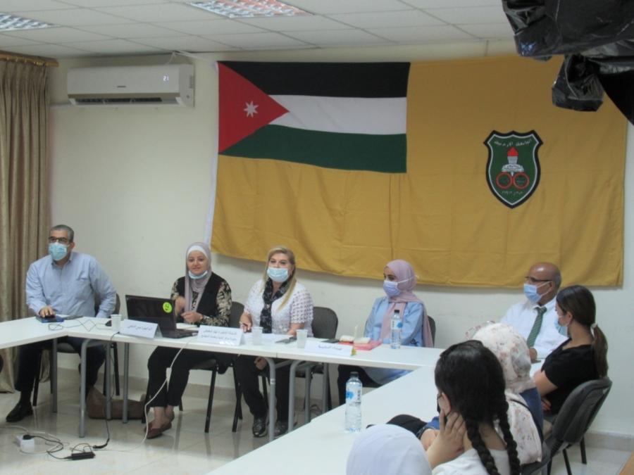 مركز تنمية وخدمة المجتمع في الجامعة الأردنية ينظم محاضرة: حول اضطرابات النوم لدى طلبة الجامعة وسبل تحسينها