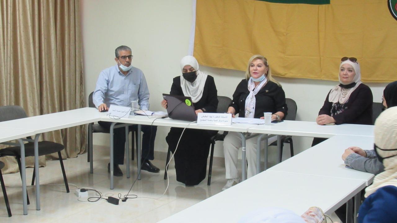 """مركز تنمية وخدمة المجتمع في الجامعة الأردنية ينظم محاضرة بعنوان:"""" حيث تكون القيم تُكوّن القمم"""""""